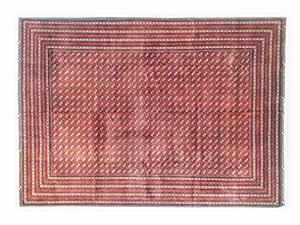 Pure Natural Wool Turkmen Elite Handmade Carpet (2.46m X 3.38m)