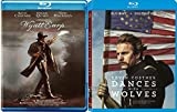 Dances With Wolves (25th Anniversary Edition) + Wyatt Earp Blu Ray Kevin Costner 2 Pack Epic Movie Action Set