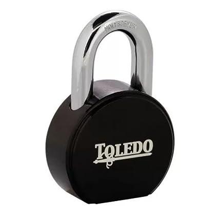 Toledo Lock Black Series tbk90r Candados de seguridad con llave redonda con American Lock Candado de