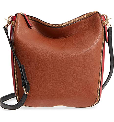 Sondra Roberts Colorblock Faux Leather Hobo ()