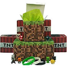 Minecraft Party Favor Gift Boxes 16 ct