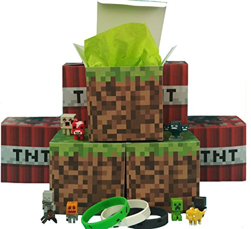 Pixel Party Favor Gift Boxes 16 ct