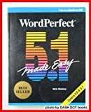 WordPerfect 5.1 Made Easy, Mincberg, Mella, 0078816254