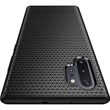 Spigen Liquid Air Armor Designed for Samsung Galaxy Note 10 Plus Case/Galaxy Note 10 Plus 5G Case (2019) - Matte Black