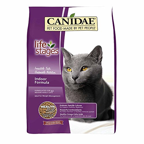 CANIDAE All Life Stages Indoor Adult Cat Dry Food Turkey, Lamb & Fish Formula, 4 lbs