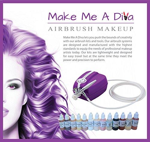 UPC 646437189316, Make Me A Diva Airbrush Makeup Kit