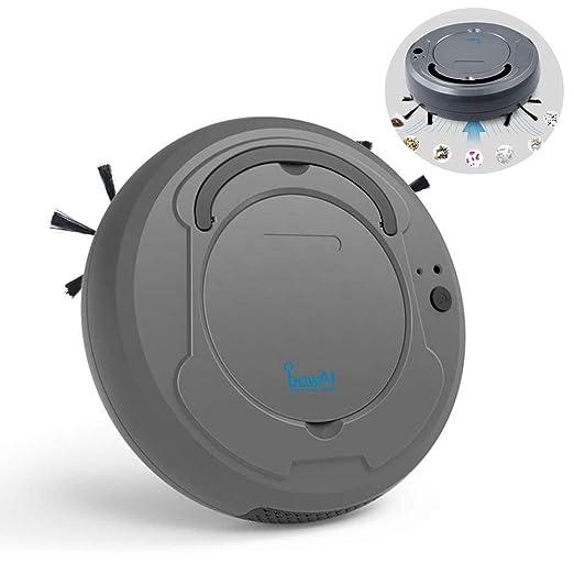 Vuffuw Aspirador Robot 3 en 1 USB Robot Aspirador Lavadora con ...