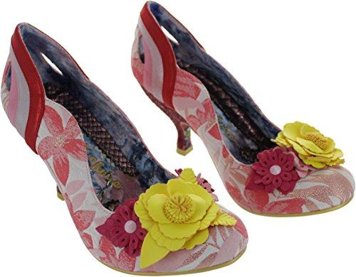 Irregular Choice Rose Bay, Scarpe col tacco donna Rosa Pink