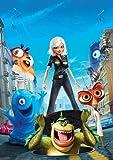 Monsters Vs Aliens Mini Poster #01 11x17in master print