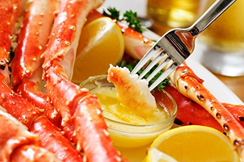 Jumbo Red King Crab 5 Lb Box - Premium Quality - Discounted Overnight Shipping Monday-Thursday (King Crab)