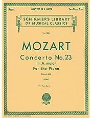 Concerto No. 23 in A, K.488: Schirmer Library of Classics Volume 1584 Piano Duet
