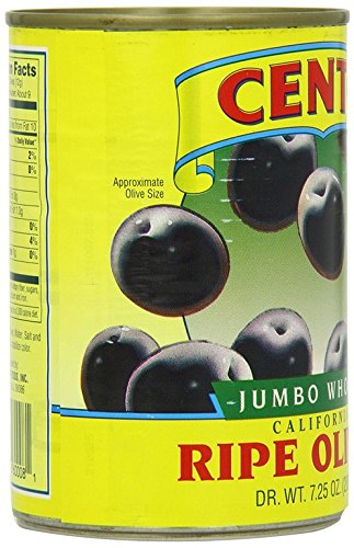 OLIVES, JUMBO BLACK , Pack of 3