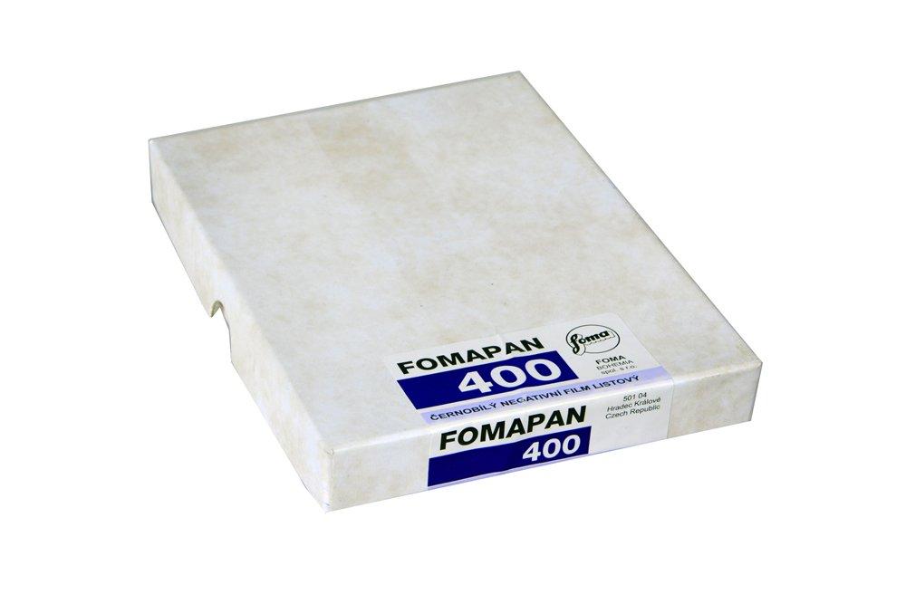 Foma Fomapan 100 ISO Black & White Negative Film 50 Sheets 5x7 ...