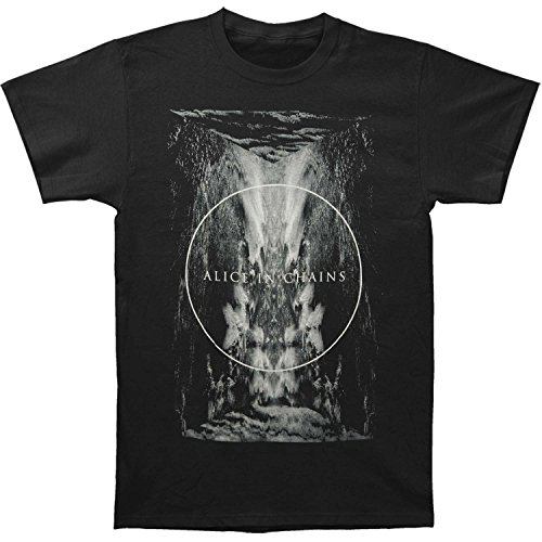 Alice In Chains Men's Drain T-shirt XX-Large Black