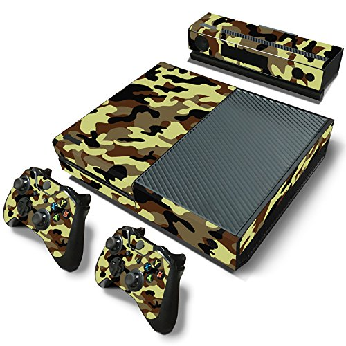 Gam3Gear Pattern Series Decals Skin Vinyl Sticker for Xbox ONE Console & Controller – Camouflage For Sale