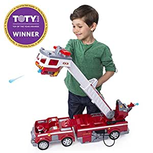 Paw Patrol Ultimate Rescue Fire Truck with Extendable 2'  Tall Ladder, for  Ages 3 & Up