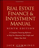 img - for Real Estate Finance and Investment Manual by Cummings, Jack 9th (ninth) Edition [Paperback(2008)] book / textbook / text book