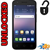 Alcatel OneTouch Ideal 4G LTE AT&T GSM Unlocked 4060A Android 5MP 8GB Smartphone - Black