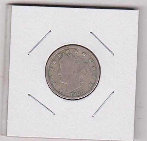 1908 Liberty Head Nickel Very Fine