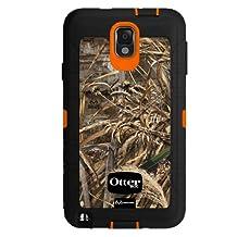 OtterBox Defender Series for Samsung Galaxy Note 3 - Retail Packaging - Blaze Orange/Black/Max 5 Design