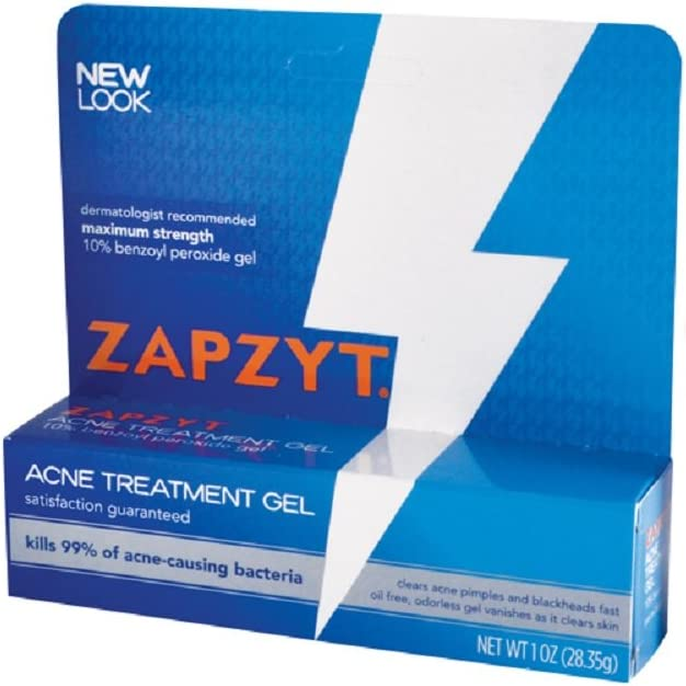 Amazon Com Zapzyt Zapzyt Acne Treatment Gel 1 Oz Pack Of 2