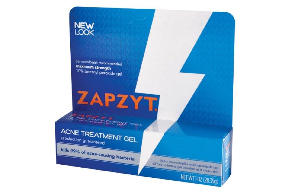 Zapzyt Zapzyt Acne Treatment Gel, 1 oz (Pack of 2)