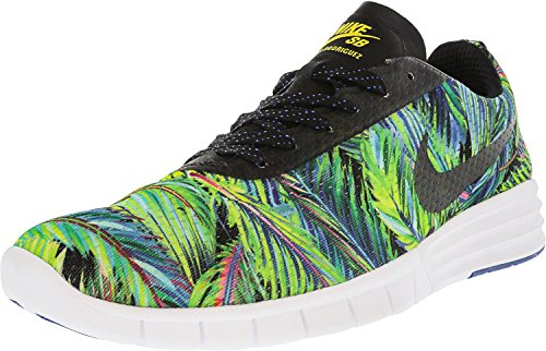 Nike SB Lunar Paul Rodriguez 9, Scarpe da Ginnastica Unisex – Adulto Multicolore (Azul / Negro / Blanco (Game Royal / Black-white))