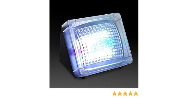 Seguridad para el Hogar Simulador de luz TV Fake Light Sensor antirrobo Luz Visual con Bright LED Negro: Amazon.es: Iluminación