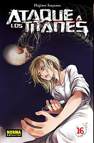 Descargar Libro Ataque A Los Titanes 16 Hajime Isayama