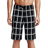 Hurley Men's Puerto Rico Burnout 19'' Boardshorts Black Board Shorts 36