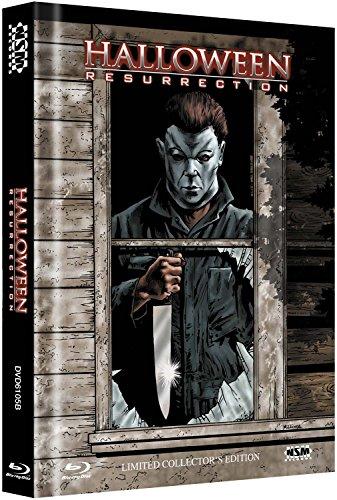 Halloween: Resurrection - Uncut [Blu-ray + DVD] limitiertes Mediabook Cover B [Limited Collector's Edition] [Alemania] (Halloween Mediabooks)