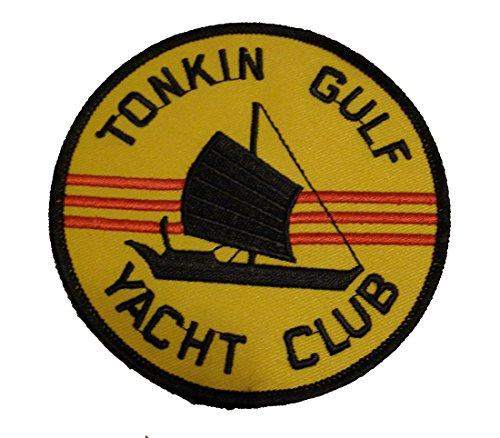 Tonkin Gulf Yacht Club Patch- Vietnam War Vet - Medium - Veteran Owned -