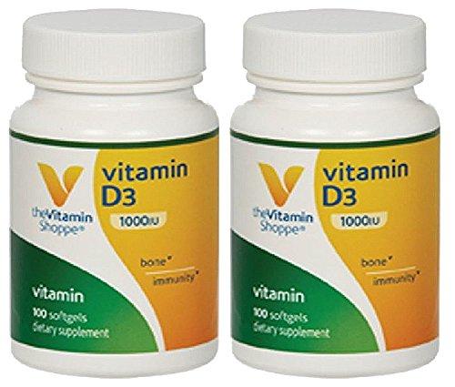 vitamin d vitamin shoppe - 7