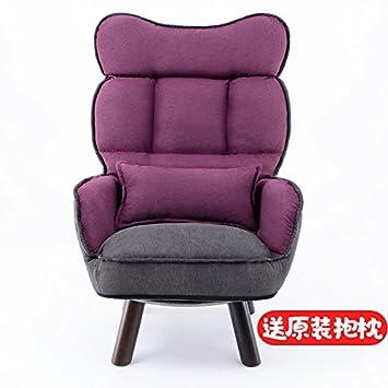 NING082 Eine Milch Stuhl/Single/Rückenlehne/Stillzeit/Sessel/kleine Wohnung/