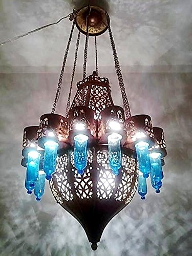 Large Moroccan Pendant Lighting in Florida - 3
