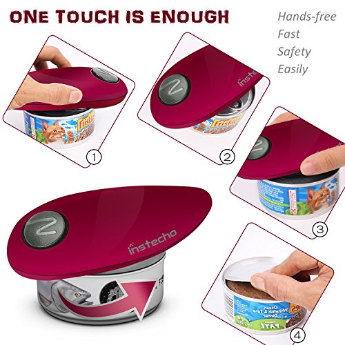 Electric Can Can Opener, Smooth Automatic Can Opener. Chef's