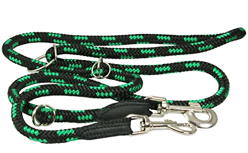 Adjustable Multifunctional Leash Large Green