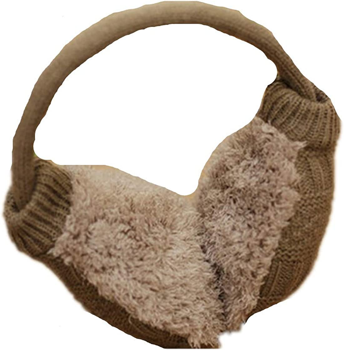 Women Sweet Plush Fluffy Warm Fur Earmuffs Earlap Ear Cover