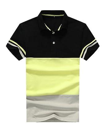 GladiolusA Polo para Hombre De Manga Corta Collar Camisa Golf ...