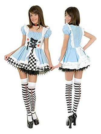 Amazon Com Sexy Halloween Costumes Alice In Wonderland Costume S