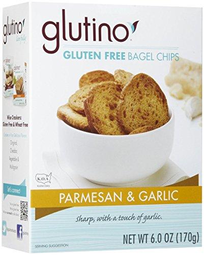 Glutino Parmesan & Garlic Bagel Chips, 6 oz