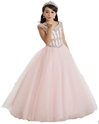 Tulle Pageant Dress