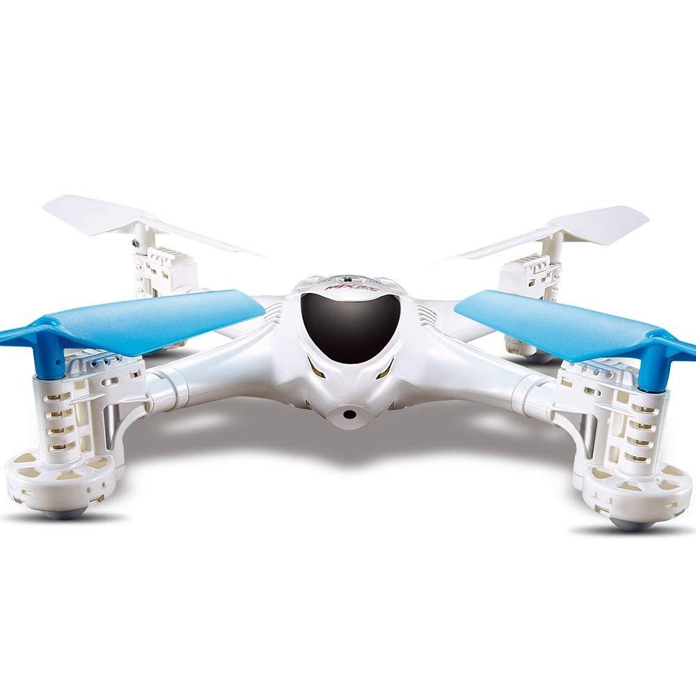 Bright Love Avión del Cuatro-Eje del Giroscopio FPV RC De 2.4 G 6-Axis con La Función Sin Cabeza De La Cámara De 0.3 MP Dreone Mode/Ruturn del Uno-Botón,Blue