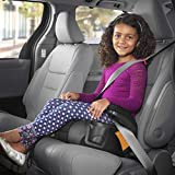 GoFit Plus Backless Booster Car Seat - Iron