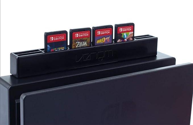 Venom Nintendo Switch Tarjeta de Juego Soporte Estante de ...