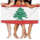 Shi Fu Unisex Lebanese Flag Beach Towels