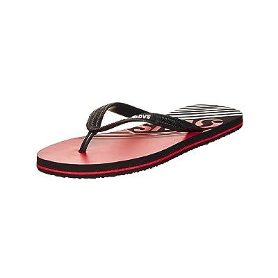 DVS Men's Marbella Red Black Eva Rubber Sandals DVF0000254-601