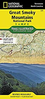 Great Smoky Mountains National Park (National Geographic Trails Illustrated Map) (1566953014) | Amazon Products