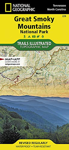 Great Smoky Mountains National Park - Great Smoky Mountains National Park (National Geographic Trails Illustrated Map)