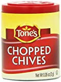 Tone's Mini's Chives, Chopped, 0.05 Ounce (Pack of 6)